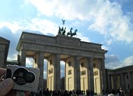 Travelbug am Brandenburger Tor