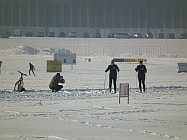 Tempelhofer Feld im Winter