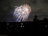 Feuerwerk in Britz