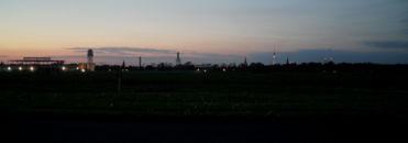 Tempelhof bei Nacht