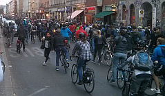 Critical Mass Berlin - Mai 2015