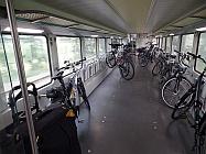 Fahrradwagen im Metronom
