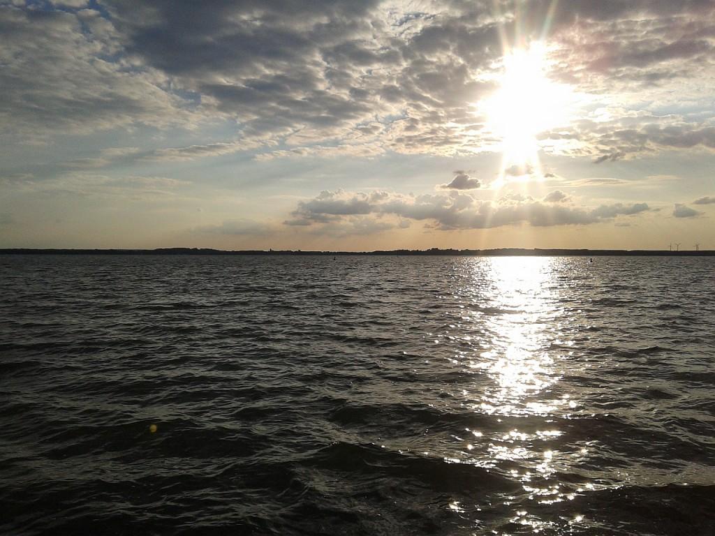 Sonnenuntergang am Plauer See