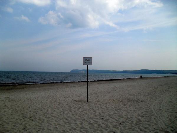 FKK-Strand bei Prora