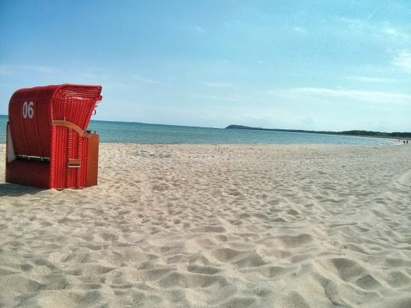 Strand in Lobben